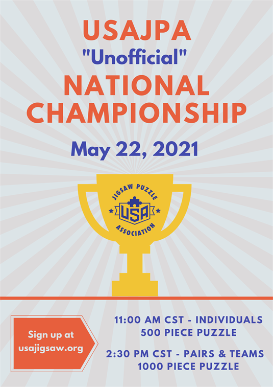 """Unofficial"" National Jigsaw Puzzle Championship"
