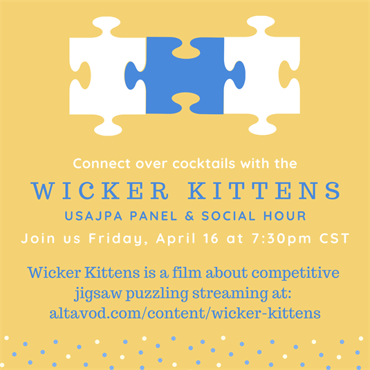 Wicker Kittens Panel